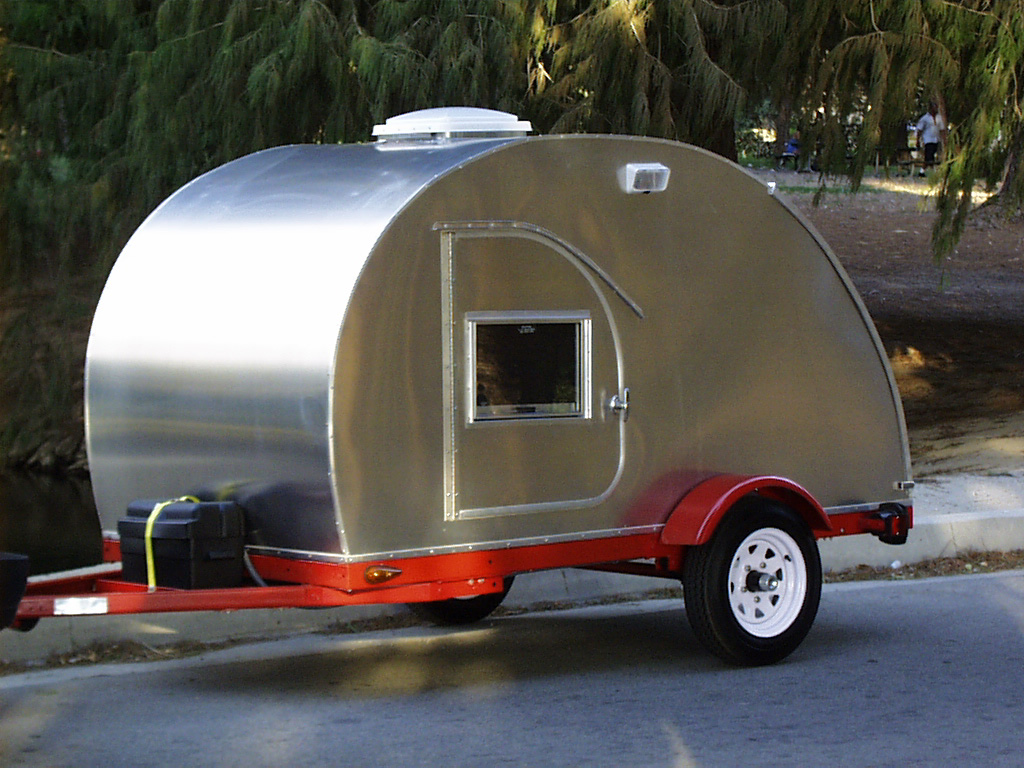 Amazing TEARDROP Camper Trailer PLANS 5x10 Tear Drop RV Camp 2  EBay